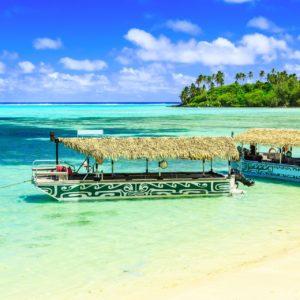 Boote in der Muri Lagune