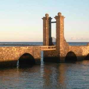 Brücke, Lanzarote, Kanaren
