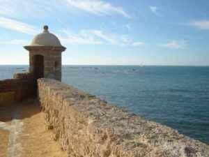 Bucht, Cadiz, Andalusien