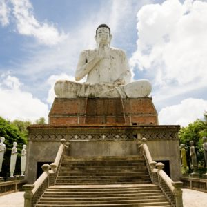 Buddha Statue in Battambang