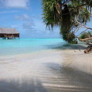 Bungalow im Meer, Malediven