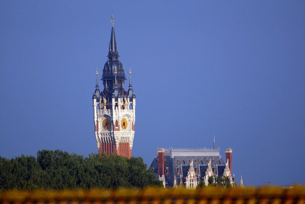 Calais historisches Rathaus