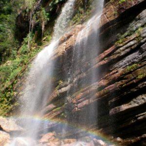 Capivari Wasserfall, Brasilien