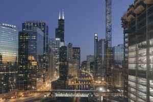 Wolkenkratzer in Chicago, Illinois
