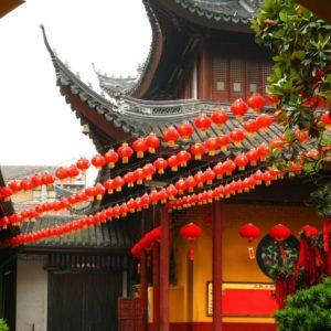 Chinesischer Pavillion, China