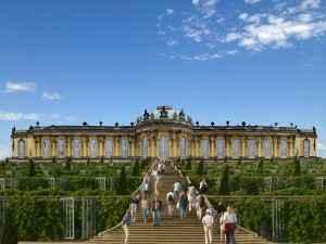 Schloss Sanssouci in Potsdam, Brandenburg