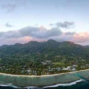 Blick auf Rarotonga