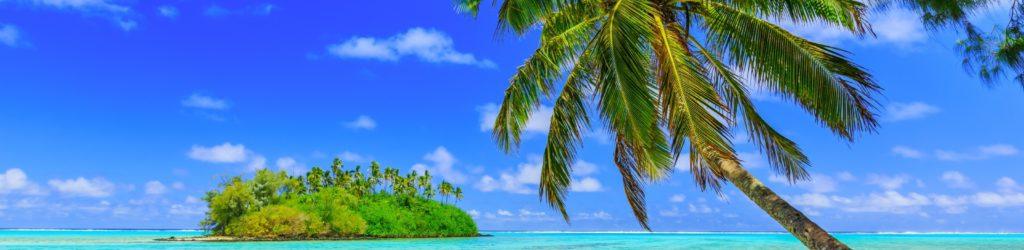 Muri Lagune auf den Cookinseln
