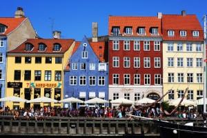 Hafen Nyhavn in Kopenhagen