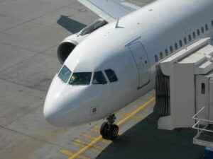Flugzeug Boarding