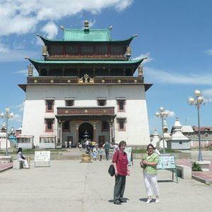 Gandan Monastery, Ulan Bator, Mongolei