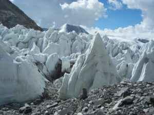 Gletscher in Nepal
