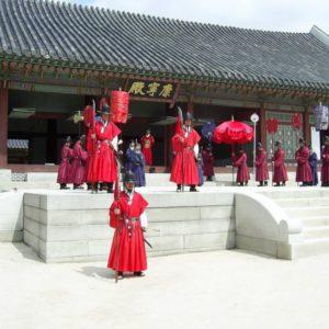 Gyeonbok Palace, Seoul, Südkorea