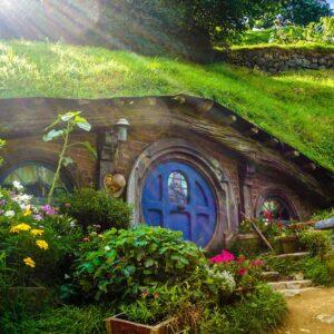 Hobbiton in Neuseeland - Heimat von Herr der Ringe
