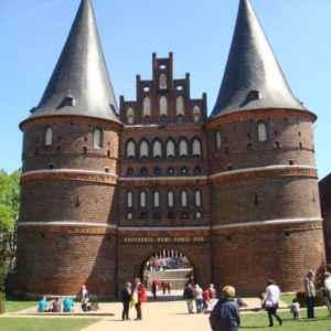 Holsten-Tor, Lübeck, Schleswig-Holstein