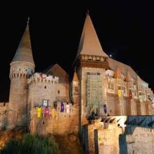 Hunyad Castle, Transilvanien, Rumänien