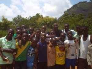 Jugendliche, Abuja, Nigeria