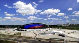 Die Kazan Arena für die WM 2018