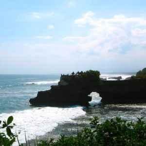 Küste, Tanah Lot, Bali, Indonesien