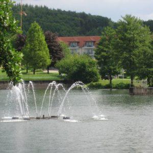 Kurpark, Weiskirchen, Saarland, Deutschland