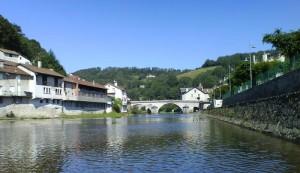 Laroquebrou, Auvergne, Frankreich