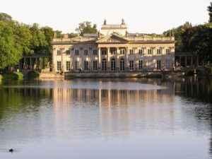 Lazienki Park, Warschau, Polen