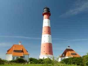 Leuchtturm, Schleswig-Holstein, Deutschland