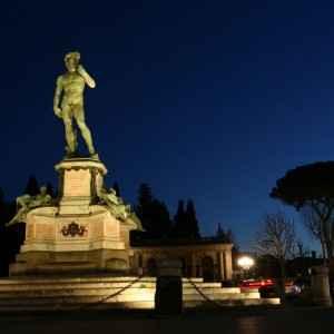 Michelangelo Statue, Florenz, Italien