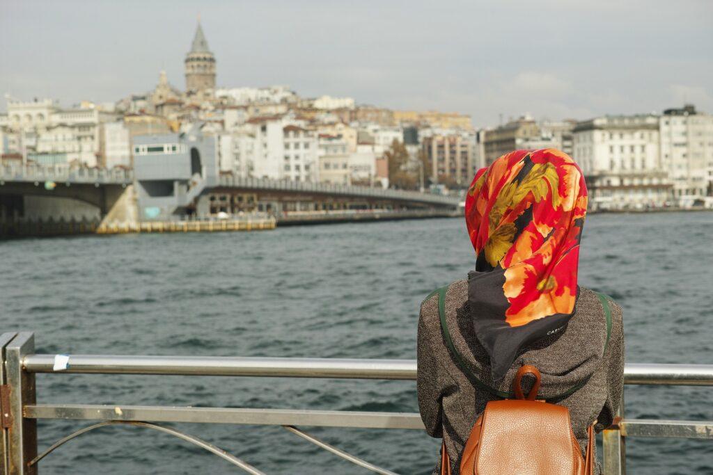 Muslima auf Reisen