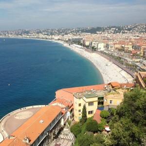 Nizza, Cote d'Azur, Frankreich