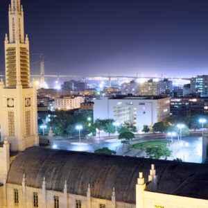 Maputo bei Nacht
