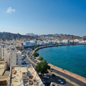 Blick auf die Hauptstadt Maskat