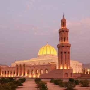 Sultan Qaboos Moschee im Oman
