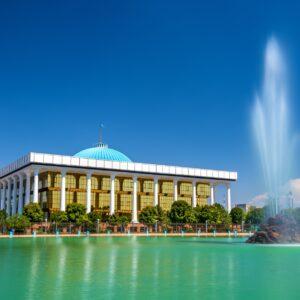 Das Parlament Usbekistans in der Hauptstadt Taschkent