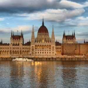 Parlamentsgebäude, Budapest, Ungarn