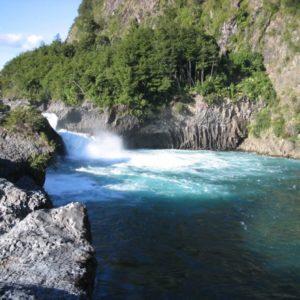 Petrohues Wasserfall, Chile