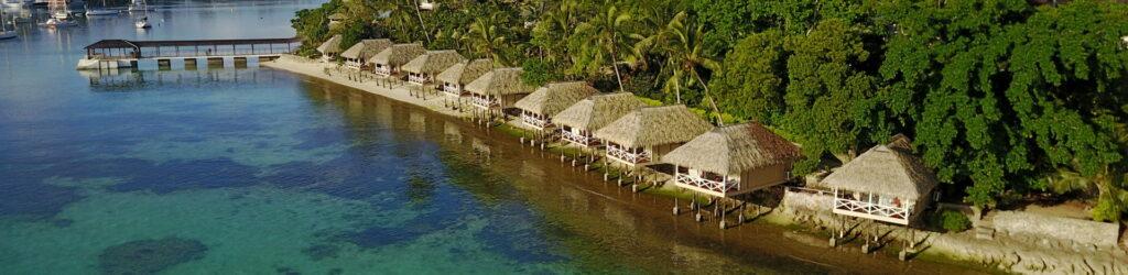 Port Vila auf der Insel Efate