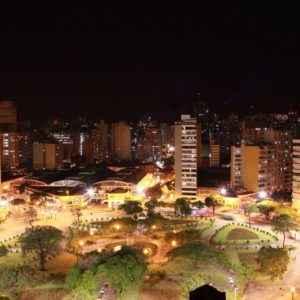 Raul Soares Square, Belo Horizonte, Brasilien