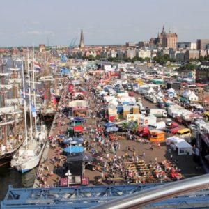 Rostocker Hafen, Rostock, Mecklenburg-Vorpommern