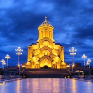 Sameba Kathedrale in Tiflis