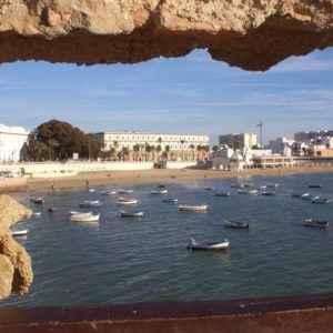 Santa Catalina Castle, Cadiz, Andalusien
