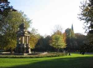 Sarphati Park, Amsterdam, Niederlande