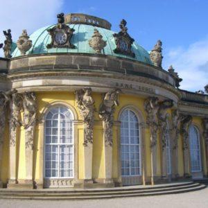 Schloss Sanssouci, Potsdam, Brandenburg, Deutschland