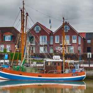 Segelboot, Ostfriesland, Niedersachsen, Deutschland