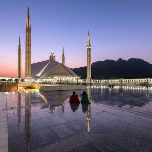 Schah Faisal Moschee in Islamabad
