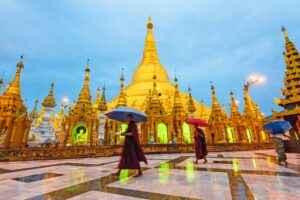 Shwedagon-Pagode in Rangun
