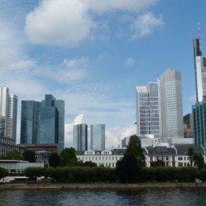 Skyline, Frankfurt am Main, Hessen