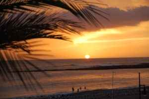 Sonnenuntergang, Kanarische Inseln