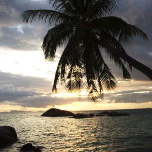 Sonnenuntergang, Koh Phangan, Thailand