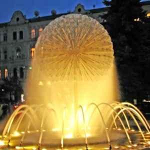 Springbrunnen, Kiew, Ukraine
